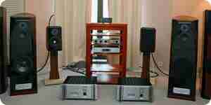 BI-Draht Heim-audio-Lautsprecher