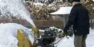 Wählen Sie eine Schneefräse: elektrische Schneefräse