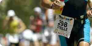 Ein Ironman-Triathlon zu tun