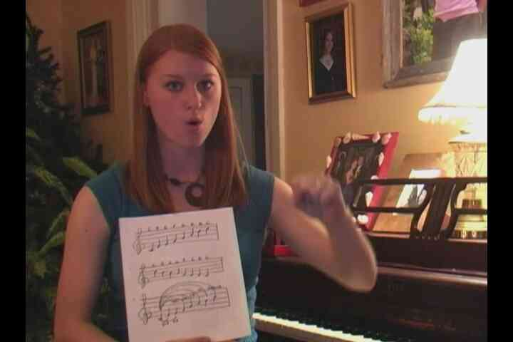 Hand signiert in Intervallen: Sight Singing Tipps