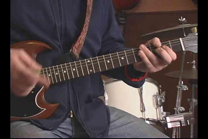"""Gewusst wie: der zweite Hälfte von """"Back in Black"""" auf der Gitarre spielen"""