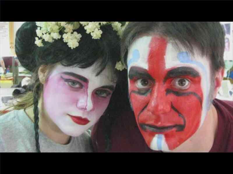 Theater Make-up-Techniken