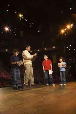 Theater blockieren Spielideen