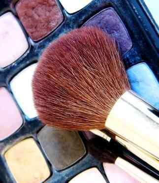 Wie zu Gelten, Bühne Make-up für Männer