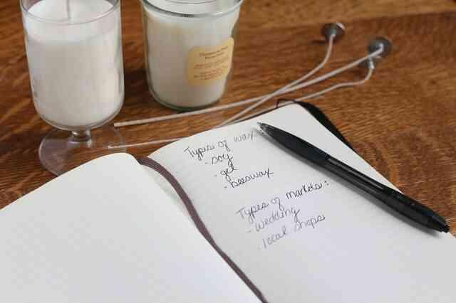 Wie zu Beginn Ihrer Kerze Making Business