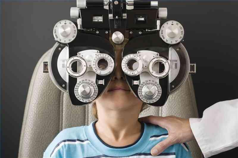 Wie zu Beginn einer Optometrie-Praxis