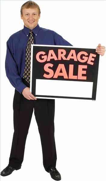 Wie starte ich eine Garage Verkauf Geschäft
