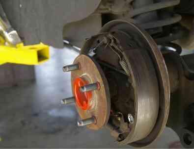 Eine Liste der Bremse werden Teile, die am Auto