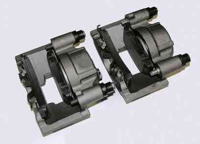 Wie zu Komprimieren, Bremssättel, ABS-Bremsen