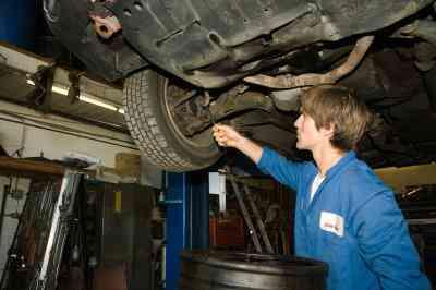 Wie zu Ersetzen Ford Hinten FESTSTELLBREMSE