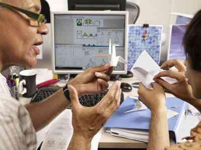 Wie erstelle ich eine Origami-Golfclub