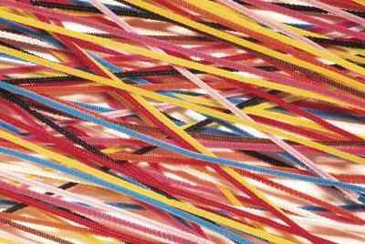 Wie erstelle ich einen Bogen Pfeifenreiniger