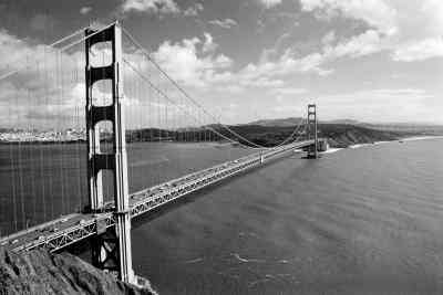 Wie zu Bauen, Kalifornien, Golden Gate Bridge Out von Popsicle Sticks
