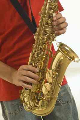 Wie man ein 3D-Saxophon