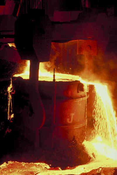 Gewusst wie: Metall zum Gießen schmelzen