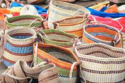 Wie zu Weben Handtasche