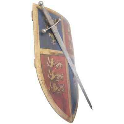 Wie man Mittelalterliche Schild-Vorlagen