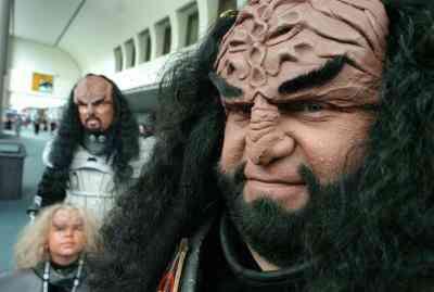 Wie man ein Klingonen-Maske