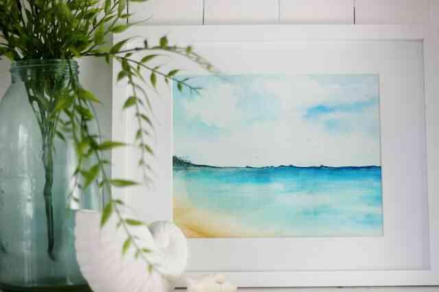 Gewusst wie: eine Strandszene malen
