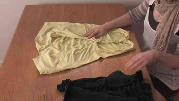Schnelle Wege, um ein T-Shirt zu binden