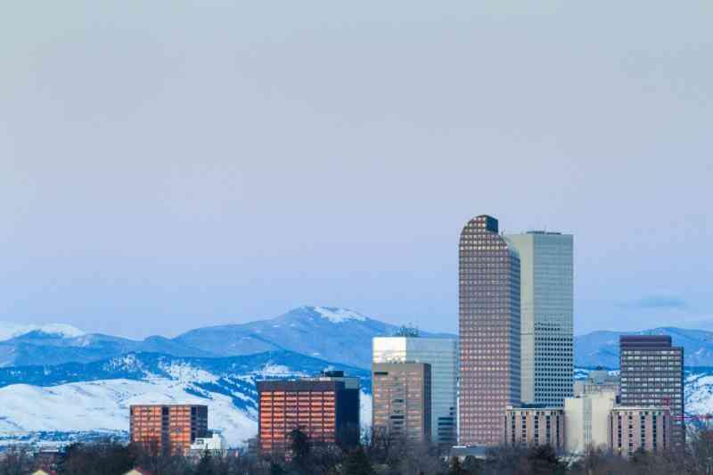 Wie zu Kleiden für Colorado Winter-Wetter
