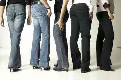 Jean-Stile für verschiedene Körperformen