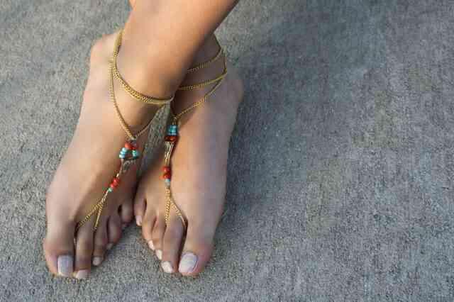 Wie erstelle ich barfuss Sandalen