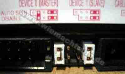 IDE Festplatte Master Jumper