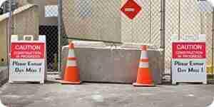 Sicherheit-Barrikaden kaufen
