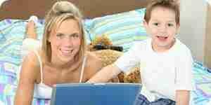 Finden Sie online-Ressourcen und Hilfe für allein erziehende Mütter