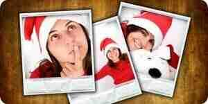 Foto Weihnachtskarten machen: Personalisierte Weihnachtskarten