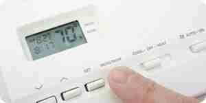 Verwenden Sie ein programmierbarer thermostat