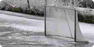 Bauen Sie ein Eishockeystadion